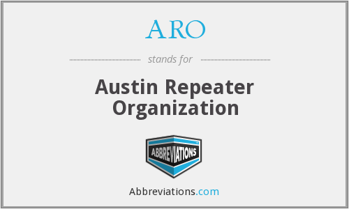 ARO - Austin Repeater Organization