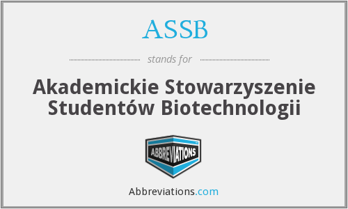 What does ASSB stand for?