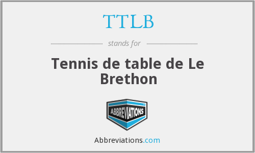 TTLB - Tennis de table de Le Brethon