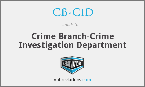 What does CB-CID stand for?