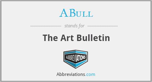 ABull - The Art Bulletin
