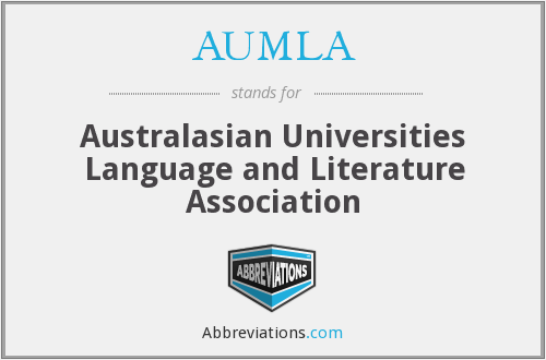 What does AUMLA stand for?