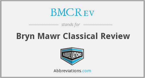 What does BMCREV stand for?