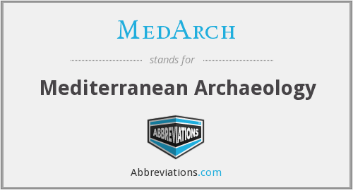 What does MEDARCH stand for?