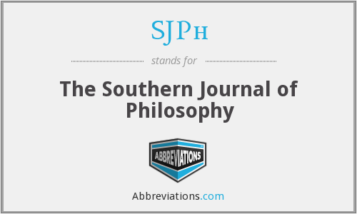 What does SJPH stand for?