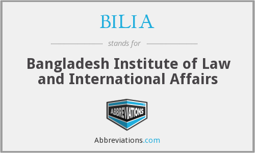 What does BILIA stand for?