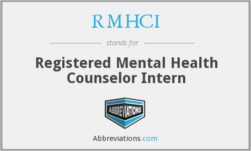 What does RMHCI stand for?