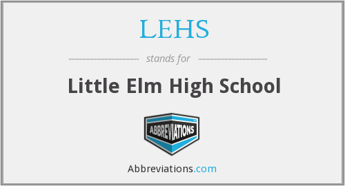 What does LEHS stand for?