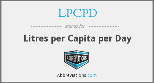 What does LPCPD stand for?