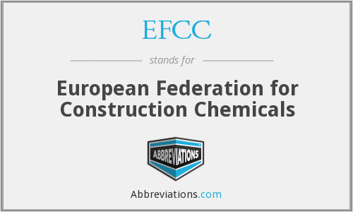 EFCC - European Federation for Construction Chemicals