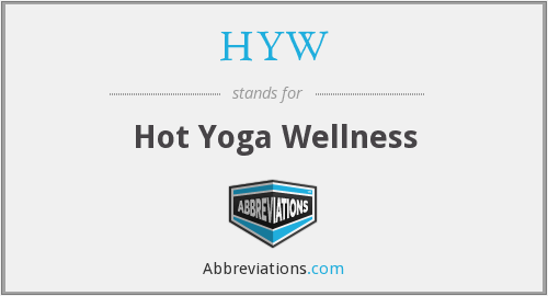 What does HYW stand for?