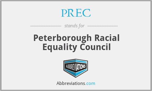 PREC - Peterborough Racial Equality Council