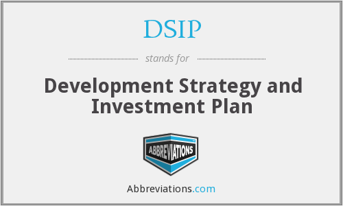 DSIP - Development Strategy and Investment Plan