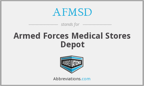 What does AFMSD stand for?