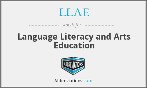 What does LLAE stand for?