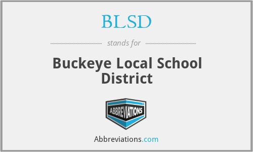 BLSD - Buckeye Local School District