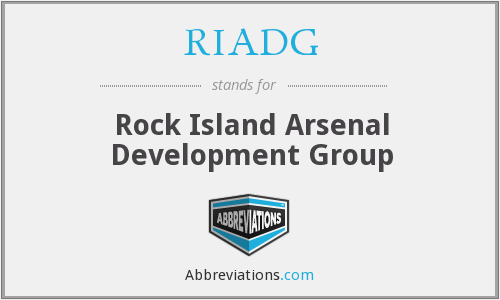 RIADG - Rock Island Arsenal Development Group