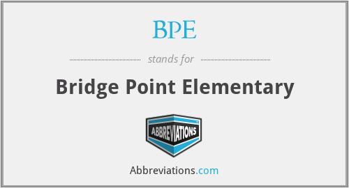 BPE - Bridge Point Elementary