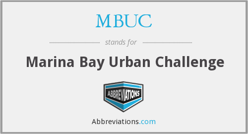 What does MBUC stand for?