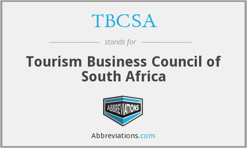 What does TBCSA stand for?