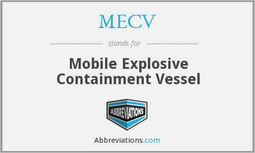 What does MECV stand for?