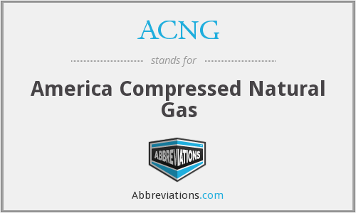 What does ACNG stand for?