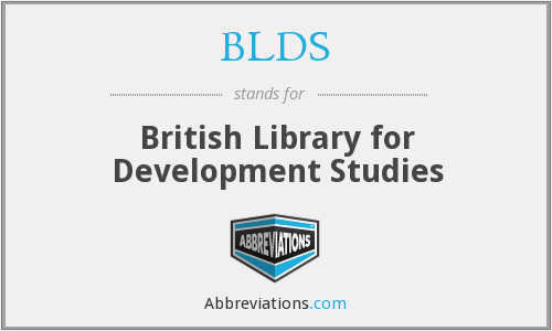 What does BLDS stand for?