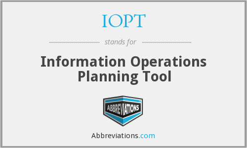What does IOPT stand for?