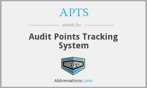 APTS - Audit Points Tracking System