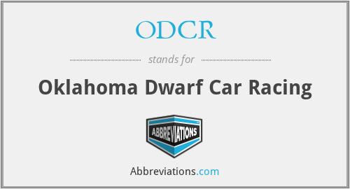 ODCR - Oklahoma Dwarf Car Racing