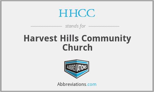 HHCC - Harvest Hills Community Church