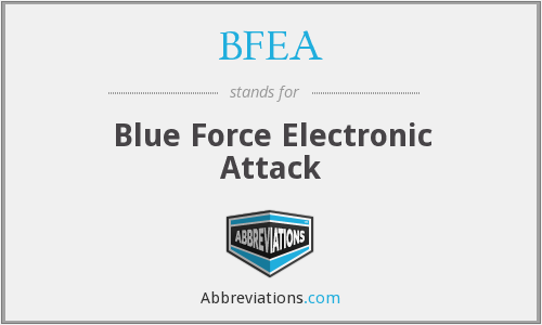 BFEA - Blue Force Electronic Attack