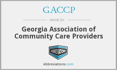 What does GACCP stand for?
