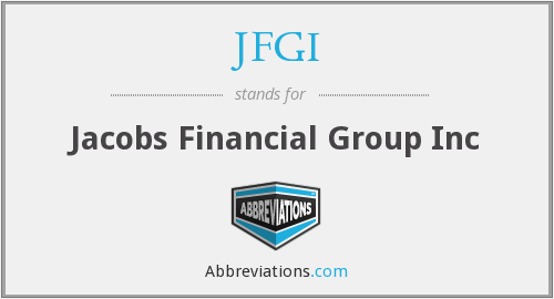 What does JFGI stand for?