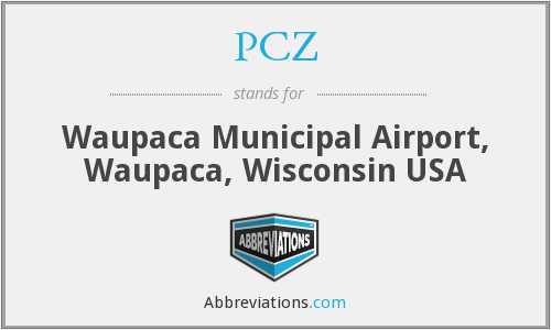 PCZ - Waupaca Municipal Airport, Waupaca, Wisconsin USA