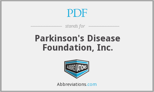 PDF - Parkinson's Disease Foundation, Inc.