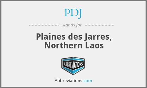 PDJ - Plaines des Jarres, Northern Laos