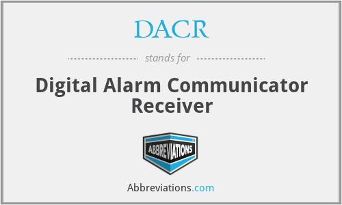 DACR - Digital Alarm Communicator Receiver