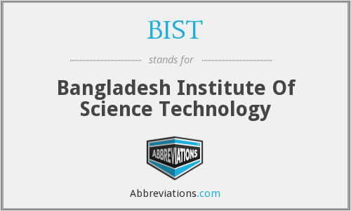 What does BIST stand for?