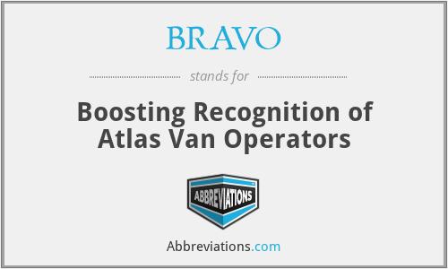 BRAVO - Boosting Recognition of Atlas Van Operators