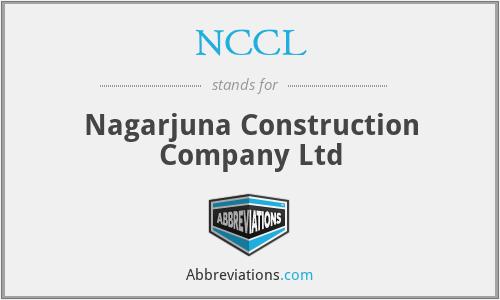 NCCL - Nagarjuna Construction Company Ltd