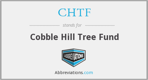 CHTF - Cobble Hill Tree Fund