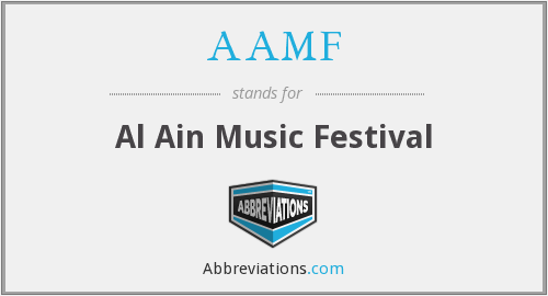 AAMF - Al Ain Music Festival