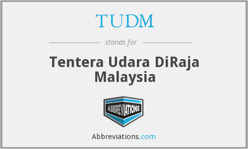 What does TUDM stand for?