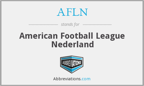 What does AFLN stand for?