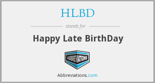 What does HLBD stand for?