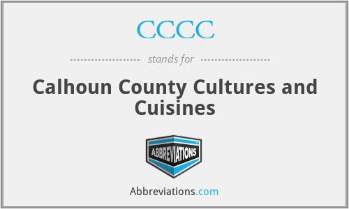 CCCC - Calhoun County Cultures and Cuisines