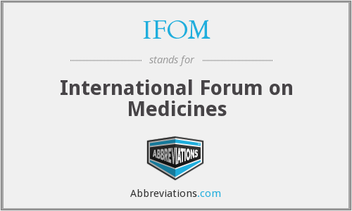 What does IFOM stand for?