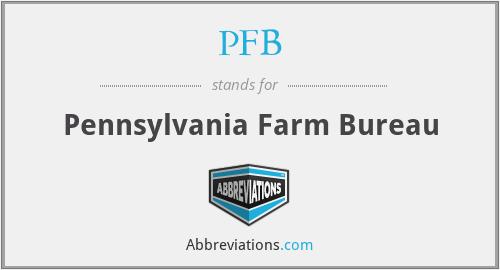 PFB - Pennsylvania Farm Bureau