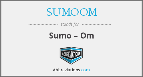 What does SUMOOM stand for?